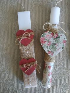 Diy Projects To Try, Christmas Stockings, Decoupage, Easter, Decorations, Candles, Holidays, Holiday Decor, Tin Cans