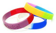 plain rubber bracelets