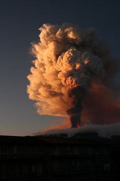 Etna 2011 by Saesenthessis       As beautiful as this photos are praying no one was hurt or lost there lives❤