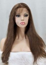 Good Silky Straight 22Inch Remy Human Hair Full Lace Wig