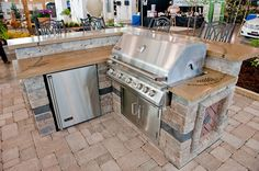 Decorative Concrete Outdoor Bar/Countertop - Decorative Concrete for an Outdoor Wine Bar