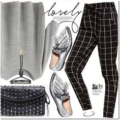 Lovely Shein by oshint on Polyvore featuring Maison Margiela and Loeffler…