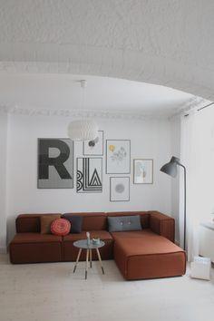 vis os den sofa, som como ikke passer til! enkelhed og elegance og ... - Danish Design Wohnzimmer