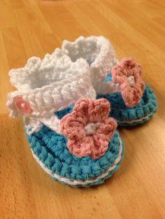 Baby flip flops my own pattern...