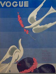 Vogue February 15 1933, Eduardo Benito