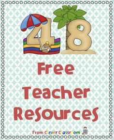 Here's a link to all of Clever Classroom's freebies on Teachers Pay Teachers. Slide on over and download them.