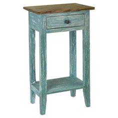 Avignon End Table in Blue