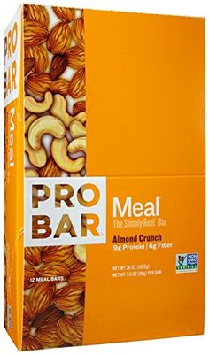 Probar Meal Bars - Almond Crunch - 3 oz - 12 ct *** More info could be found at the image url.