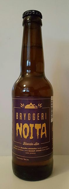 Noita Easter Blond Ale by Bryggeri Helsinki. 5/10 pts