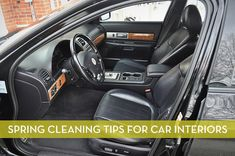 8 Quick Tips for Cleaning and Organizing Your Car Interior Curbly Car Cleaning Hacks, Car Hacks, Cleaning Solutions, Spring Cleaning List, Truck Detailing, Car Care Tips, Do It Yourself Organization, Clean Your Car, Homemade Cleaning Products