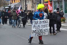 French protesters scored a major victory over the weekend when French President Emmanuel Macron scaled back one of his planned pension reforms, but not all are happy. French Government, Europe News, French President, Emmanuel Macron, Victorious, Presidents, Population, Gauche, Curly Bob