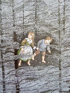hansel and gretel illustration - Google Search