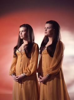 Madeleine and Mary Collinson, from Hammer Horror's #Twins Of Evil (1971)