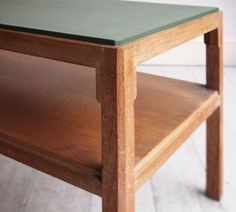 LIMED OAK SIDE TABLE by HEAL'S - HOWE London