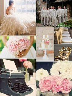 #Pink and #Gold #Wedding Blog: Aisle Ready
