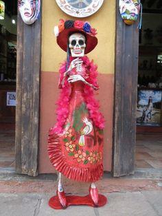 La Catrina Tlalpujahua Michoacán.