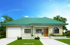 This one storey Bungalow House with 3 bedrooms is 127 square meters in floor area which can be built in. Square Meter, Bungalow, Bedrooms, David, Flooring, Building, Outdoor Decor, House, Home Decor