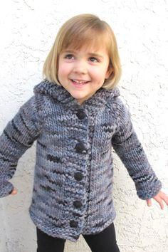 Children's Bulky Top Down Coat