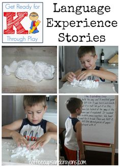 Language Experience Stories - play and learn!
