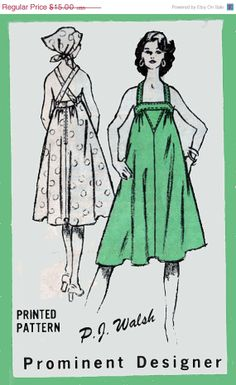 ON SALE Vintage 70s Mail Order Sewing Pattern M472 by sandritocat, $12.75