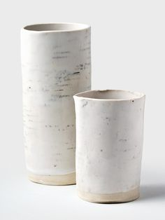 Birch Log Ceramic Vase by dbO Home