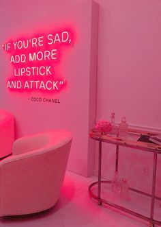 PINK | Chanel | West Hollywood | Chanel Pop up store | Coco Chanel | #welovecoco | motivational quotes | Pink light installation | Pink Aesthetic | Pink decor |
