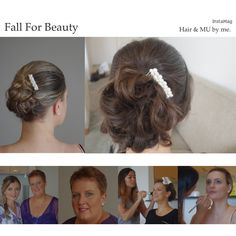 Few pictures of a wedding I did in March 2014. Hair & Makeup by me.