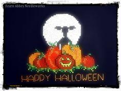 Halloween Cross Stitch from Fearn Abbey Needleworks
