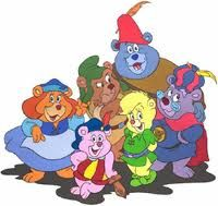 Gummi Bears...bouncing here and there and everywhere. High adventures that's beyond compare. They are the gummi bears!