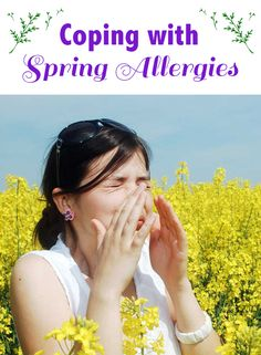 If you're one of the millions who suffer from the misery of seasonal allergies, here are some great tips to help you cope!