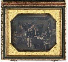 SFMOMA | Explore Modern Art | Our Collection | Unknown | Untitled [Painting of the Declaration of Independence]