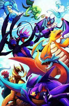 Dragon-type Pokémon. #anime