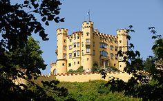 Luis II, rey de Baviera desde 1864 pasó su infancia en el castillo de Hohenschwangau