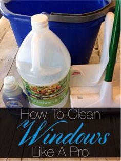 8 c hot water, 1cup vinegar, 2 tsp dawn. Spray w/hose, mop w/solution. Hose & squeegee