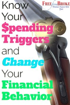 When you don't know your spending triggers your finances can blow up. Click here to learn to identify your spending triggers. http://freefrombroke.com/know-your-spending-triggers-to-change-your-financial-behavior/