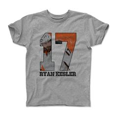 Ryan Kesler Game O Anaheim NHLPA Officially Licensed Toddler and Youth T-Shirts 2-14 Years
