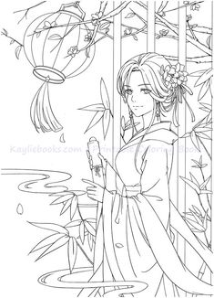 Detailed Coloring Pages, Free Adult Coloring Pages, Cute Coloring Pages, Coloring Pages For Girls, Coloring Books, Art Drawings Sketches Simple, Printable Art, Printable Coloring, Princess Coloring Pages