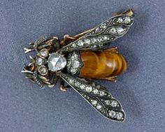 French Bee Brooch