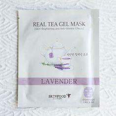 SKINFOOD Real Tea Gel Mask - Lavender - Soko Glam