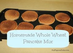 ... | Oatmeal packets, Whole wheat pancakes and Banana oatmeal muffins