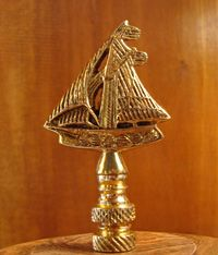 Vintage lamp finials county line road f i n i a l s pinterest brass sailboat lamp finial at skipjacknauticalwares mozeypictures Image collections