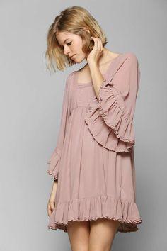 #pink #babydoll #dress