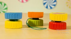 How to make a yoyo coloredtips 1