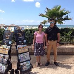 Public witnessing in Tel Aviv, Israel. Photo shared by @ronniemingov They'll need to watch out for mortars from BOTH sides of the conflict!