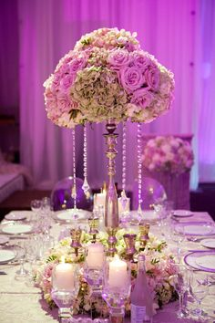 Lavendar and lilac décor - like the colours