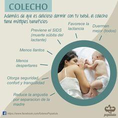 Beneficios del colecho  Por www.facebook.com/fularesPopalula