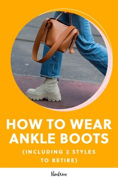 Here are the five biggest ankle boot trends to stock up on, plus two styles to retire in 2020. #ankle #boots #style