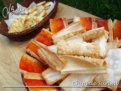 Chips de Surimi: Recetas Dukan Fish Recipes, Low Carb Recipes, Snack Recipes, Snacks, Menu, Dukan Diet, Chips, Health Fitness, Cooking