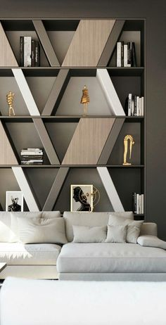 Luxury Interior Design living Room – The World Luxury Interior Design, Interior Design Living Room, Modern Interior, Living Room Designs, Interior Decorating, Bookcase Decorating, Living Rooms, Clinic Interior Design, Interior Design London