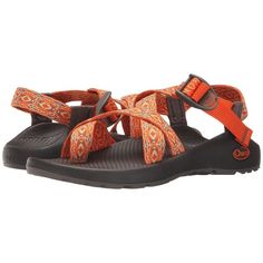 Chaco Z/2 Classic (Native Apricot) Women's Sandals ($105) ❤ liked on Polyvore featuring shoes, sandals, platform sandals, arch support sandals, chaco shoes, wrap shoes and chaco